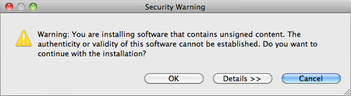 Haxe plugin security warning.png